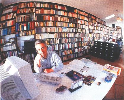 Arbeitszimmer auf der Canyon Creek Ranch, Snowflake, Arizona(aus dem Spiegel-Special-Artikel Einsame Adler, Mai 1997)