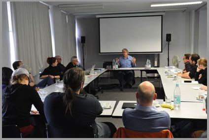 Seminar bei Prof. Dr. Jan-Christopher Horak, UCLA (Foto: ifs)