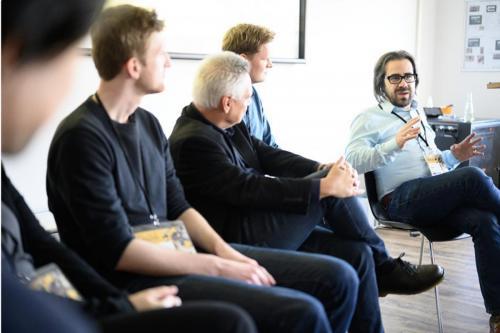 Panel: Jan Svelch, Gundolf S. Freyermuth, Hanns Christian Schmidt, Ian Bogost